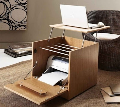 diseño escritorio portátil