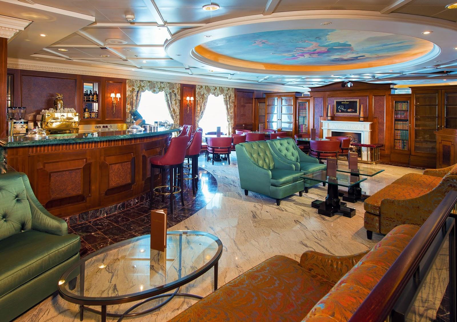 Cruise diva insignia rejoins the oceania fleet with for Insignia interior design decoration
