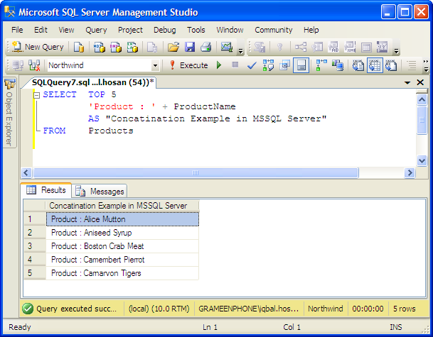 Use case statement with select query in sql server case query output