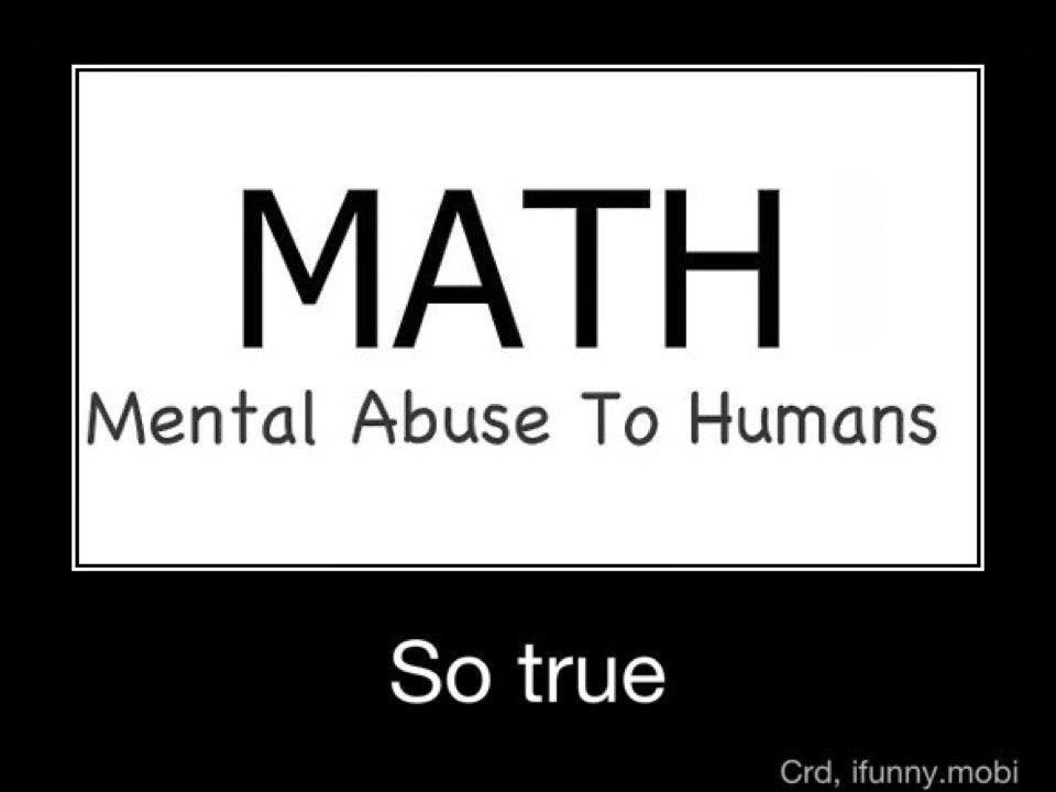 DEAR MATH  SPARE ME  Dear Math