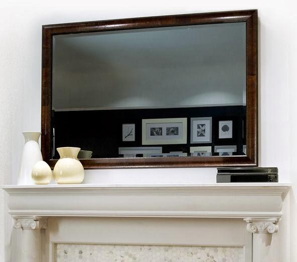 Arredo in specchio da parete con tv incorporato - Specchio con tv ...