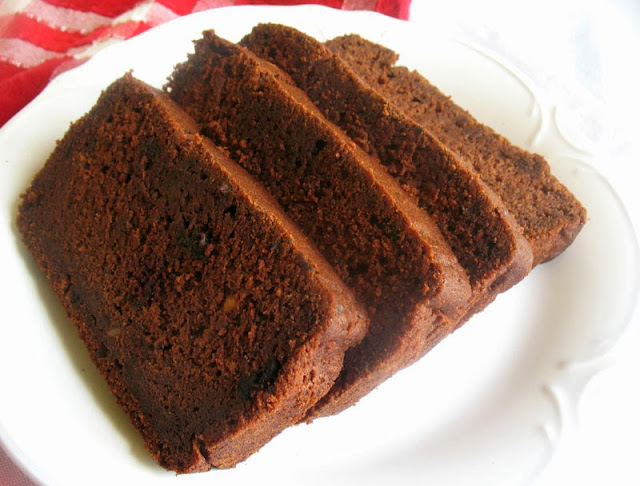 chocolate date loaf