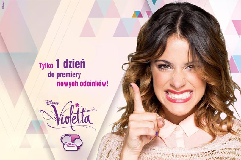 """Już jutro-nowe odcinki """"Violetty""""!"""