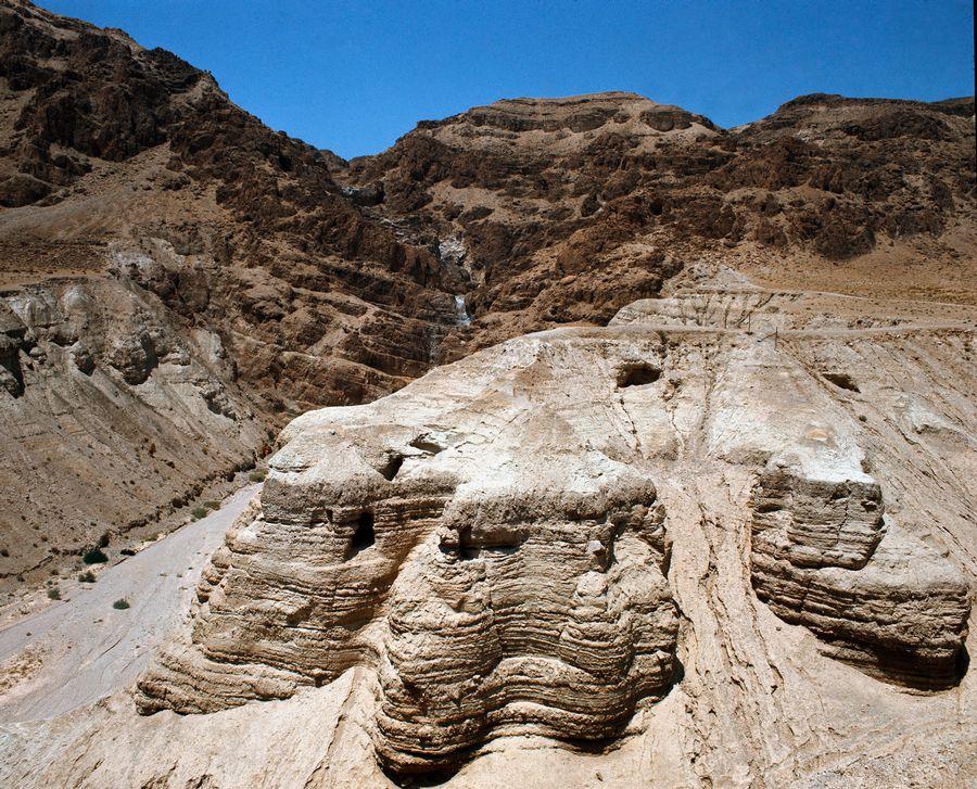 Découverte de la douzième grotte de Qumrân