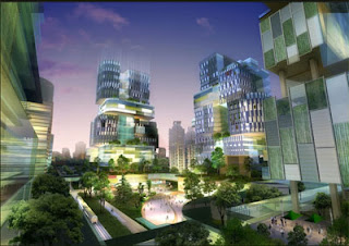 Eco-villes : une meilleure relation équilibrée entre la nature et l'homme