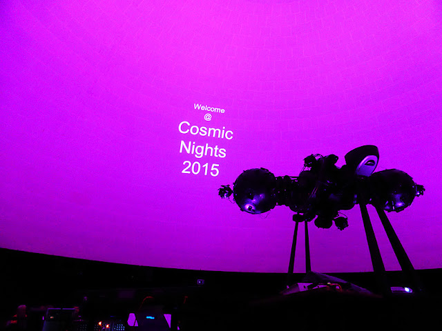 Cosmic Nights 2015 @ Planétarium de Bruxelles / photo S. Mazars