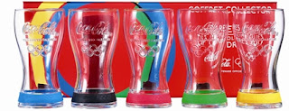 Coca-Cola lance sa nouvelle collection de verres collectors Jeux Olympiques de Londres 2012 !