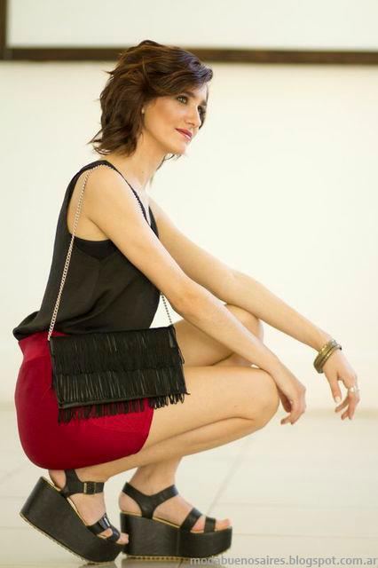 Veronica de Martini invierno 2013 moda carteras y sobres.