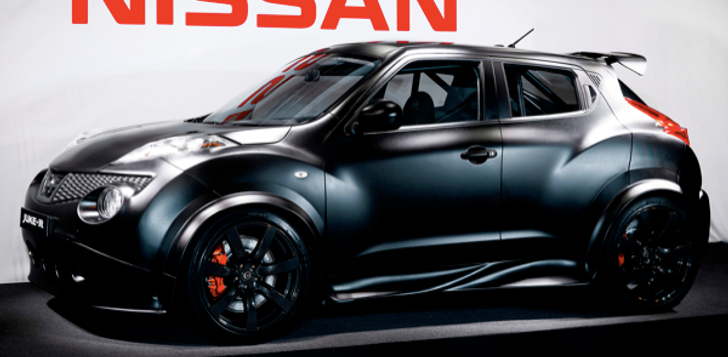 Nissan Juke-R concept showcased