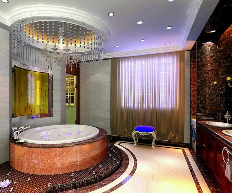 luxury bathrooms decorations, tiles, paint, ceiling, flooring designs  title=
