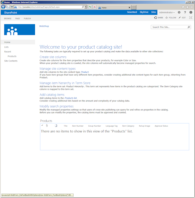Sharepoint site templates sharepoint 2013 preview product catalog site template maxwellsz