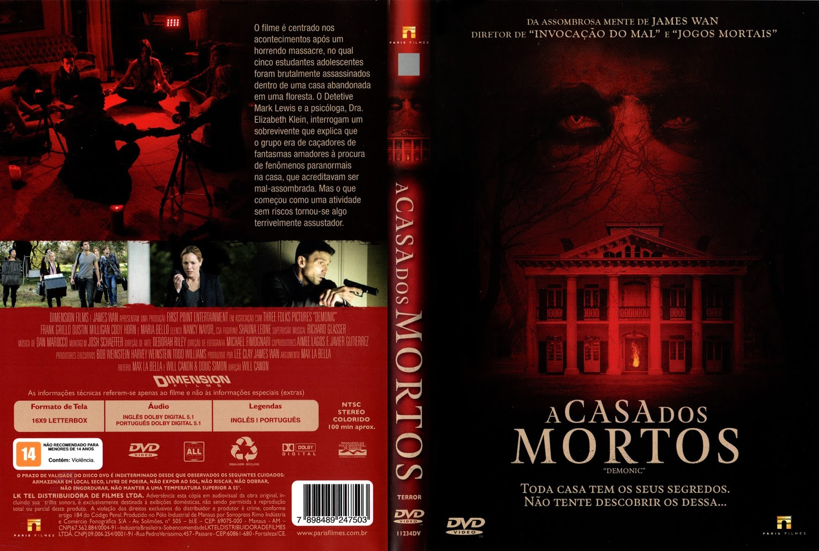 Filme Dentro Da Casa inside super capas: o melhor site de capas de dvd, cd, filmes e download