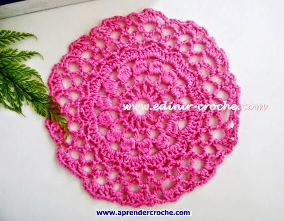 dvd toalhinhas em croche rosa sul aprender croche edinir-croche loja curso frete gratis