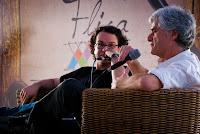 Foto: Peterson Azevedo - Victor Mascarenhas e Reinaldo Moraes