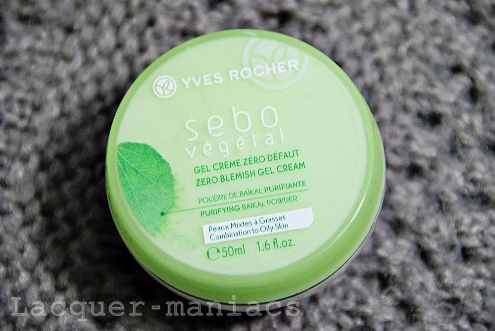 Żelo-krem, serum zwężające pory i maseczka oczyszczająca Yves Rocher Sebo Vegetal