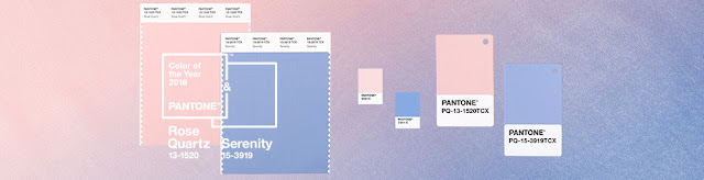2016 Color of the Year: Rose Quartz and Serenity