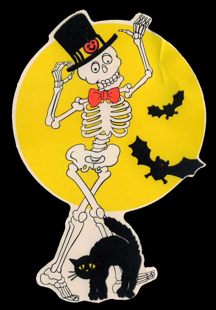 Neato Coolville: 1980\'S HALLOWEEN WALL DECORATIONS