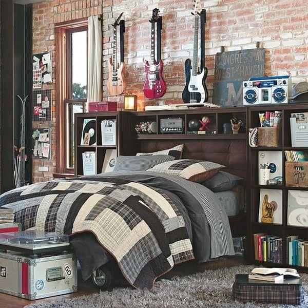 Dormitorios con temas para adolescentes dormitorios con - Como insonorizar una habitacion para musica ...