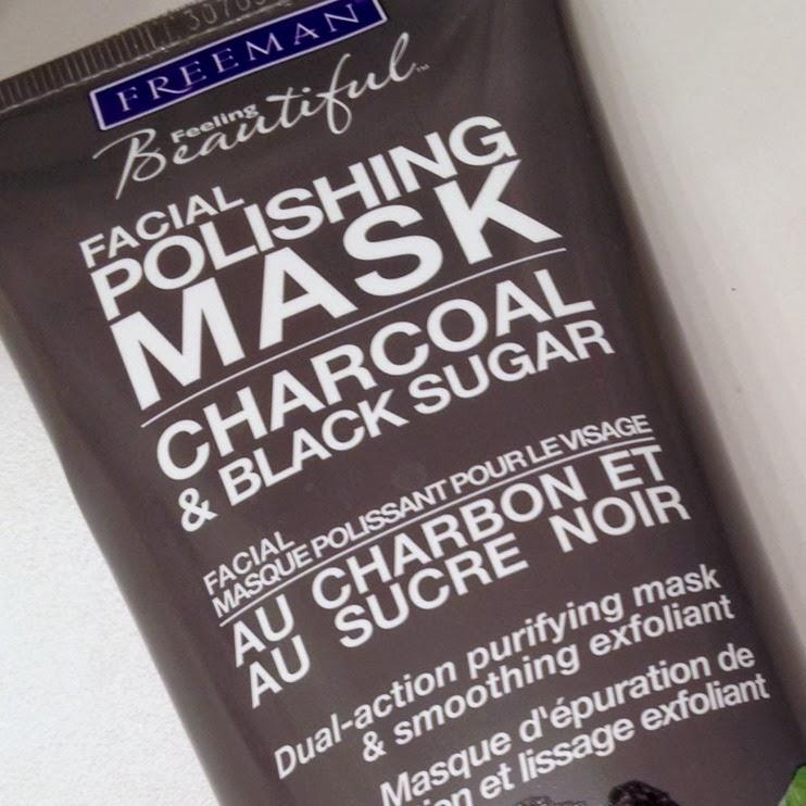 charcoal black sugar polishing mask