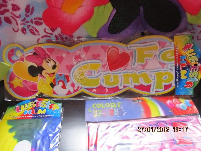 fiesta minnie mouse para nias with guirnaldas infantiles para cumpleaos