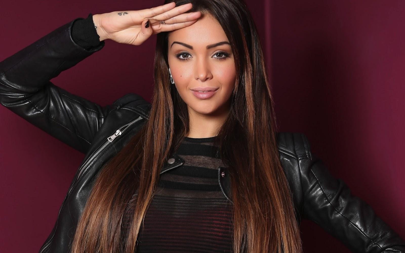 French tv actress nabilla benattia full hd images for 1st international salon of photography kula 2013