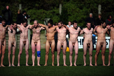 Austrian rugby team naked
