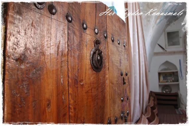 Hacı Abdullah Bey Konağı, oda kapısı