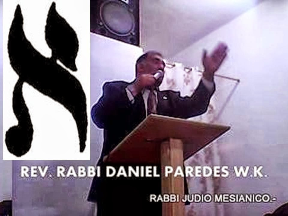 RABBI DANIEL PAREDES W.K.
