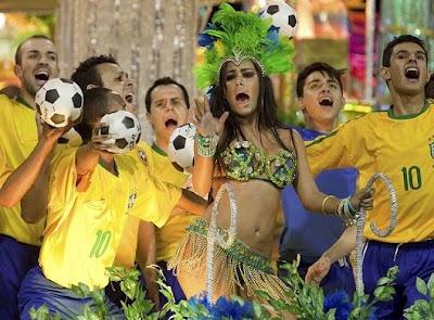 larissa riquelme en carnaval sao paulo brasil