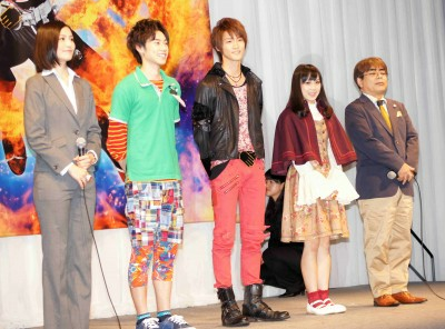 Kamen Rider Wizard Cast Confirmed, Press Conference Photos