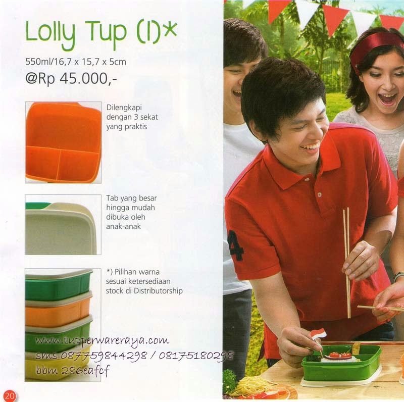 Tupperware Promo Agustus 2014 - Lolly Tup