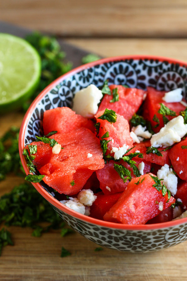 Beautiful Watermelon Salad