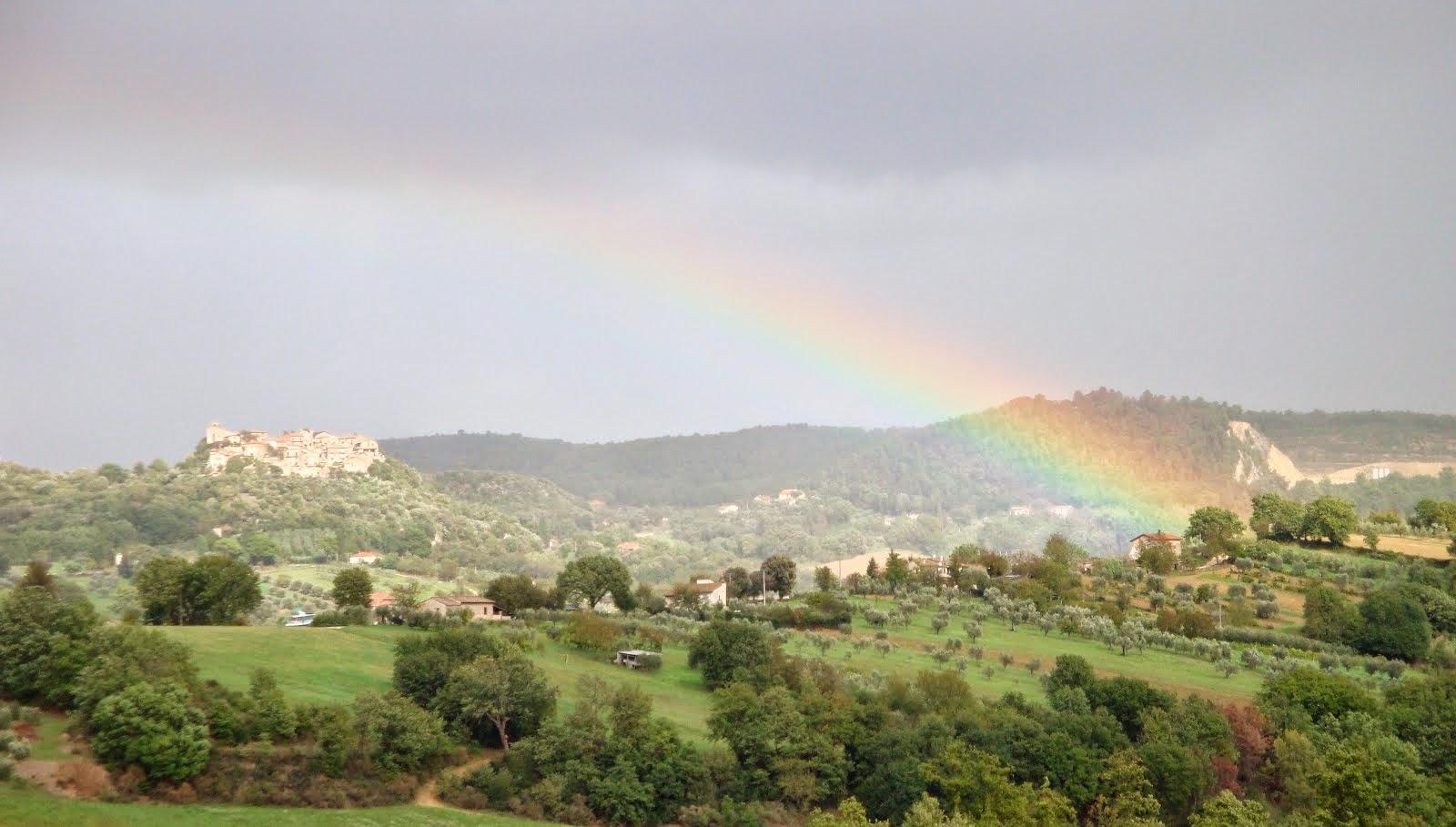 """""""Un arcobaleno senza tempesta questa si che sarebbe una festa """" Ratti della Sabina"""
