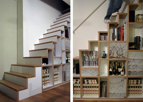 decoracao de paredes de escadas interiores:Construindo Minha Casa Clean: Decoração Embaixo de Escadas!!!