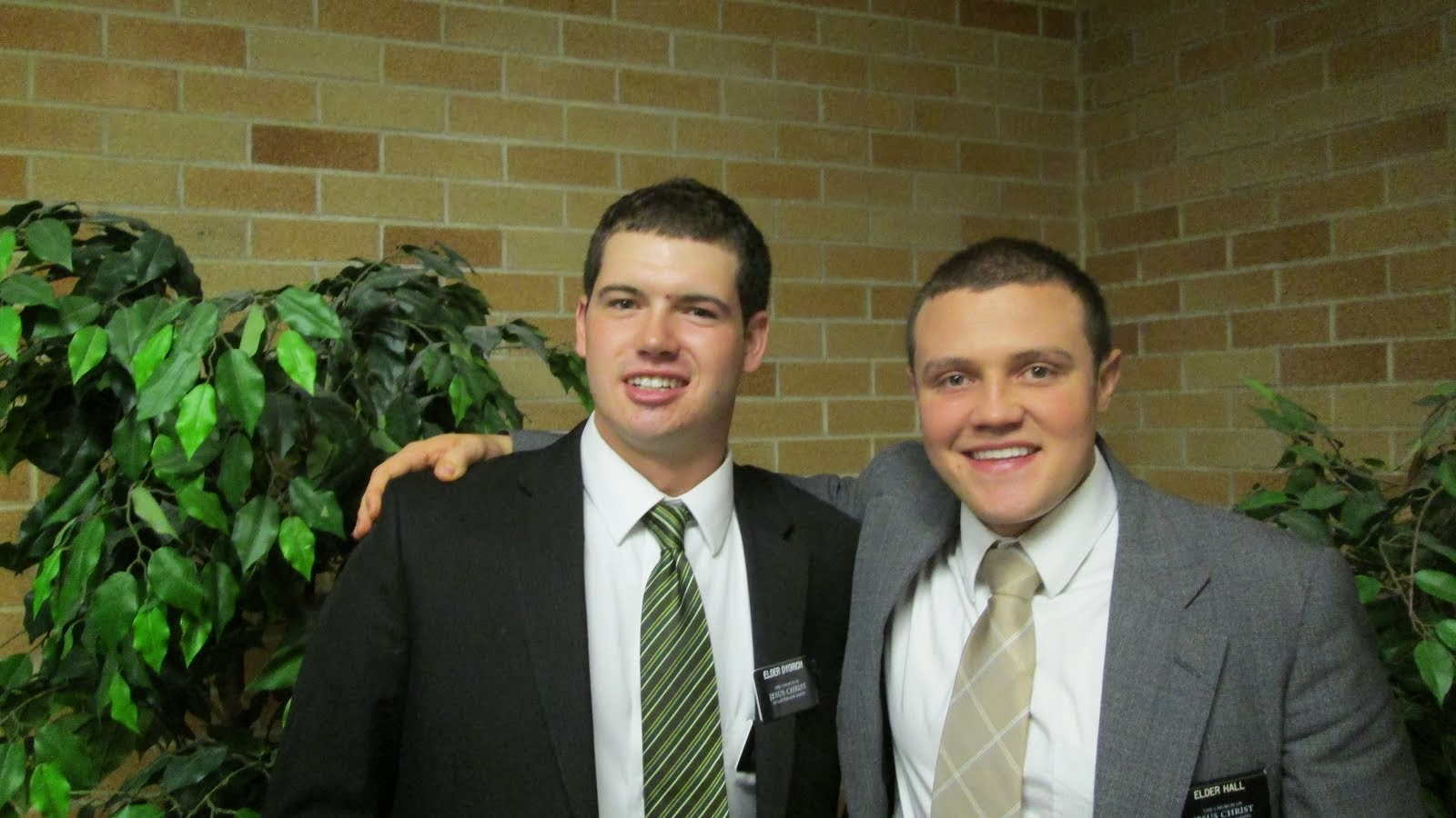 Elders Dyorich and Hall