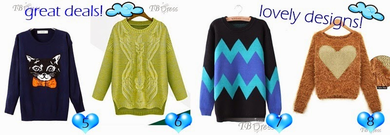 http://www.tbdress.com/Cheap-Sweaters-101057/