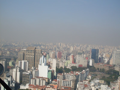 Vista do alto da torre do Banespa - foto Ana Vargas