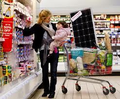 supermercado energia solar