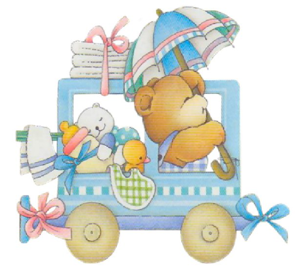 Beb s caricatura para baby shower imagui - Dibujos pared bebe ...