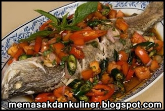 Resep Masakan | Ikan Bakar Sambal Dabu Dabu