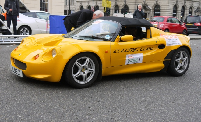Privately converted electric Lotus Elise