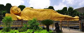 Mahavihara Majapahit Patung Budha Tidur