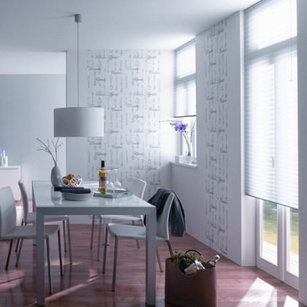 Hogar diez papeles pintados para ba os y cocinas Papeles vinilicos para dormitorios