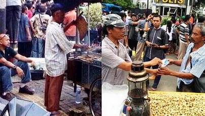 Tragedi Bom Sarinah: Tukang Sate dan Penjual Kacang Tetap Santai Melayani Pembeli