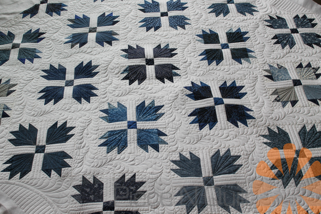 Piece N Quilt: Bear Paw Quilt - Custom Machine Quilting by Natalia ... : bear claw quilt - Adamdwight.com