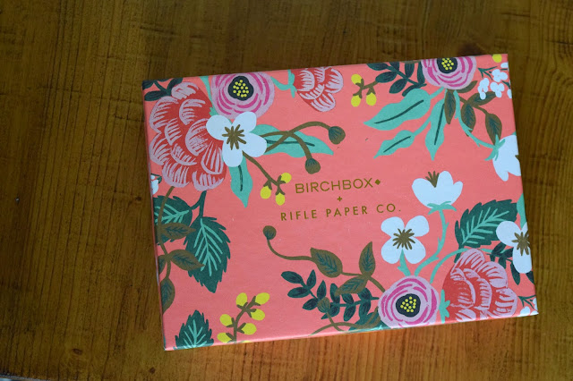 Birchbox, rifle paper co