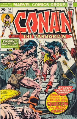 Conan the Barbarian #58. Belit