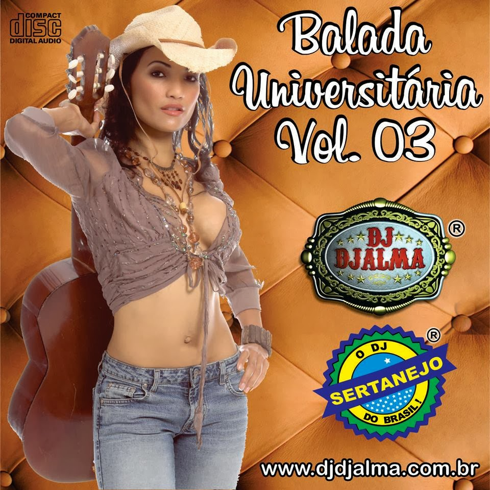 Dj Djalma - Balada Universit�ria Vol.03