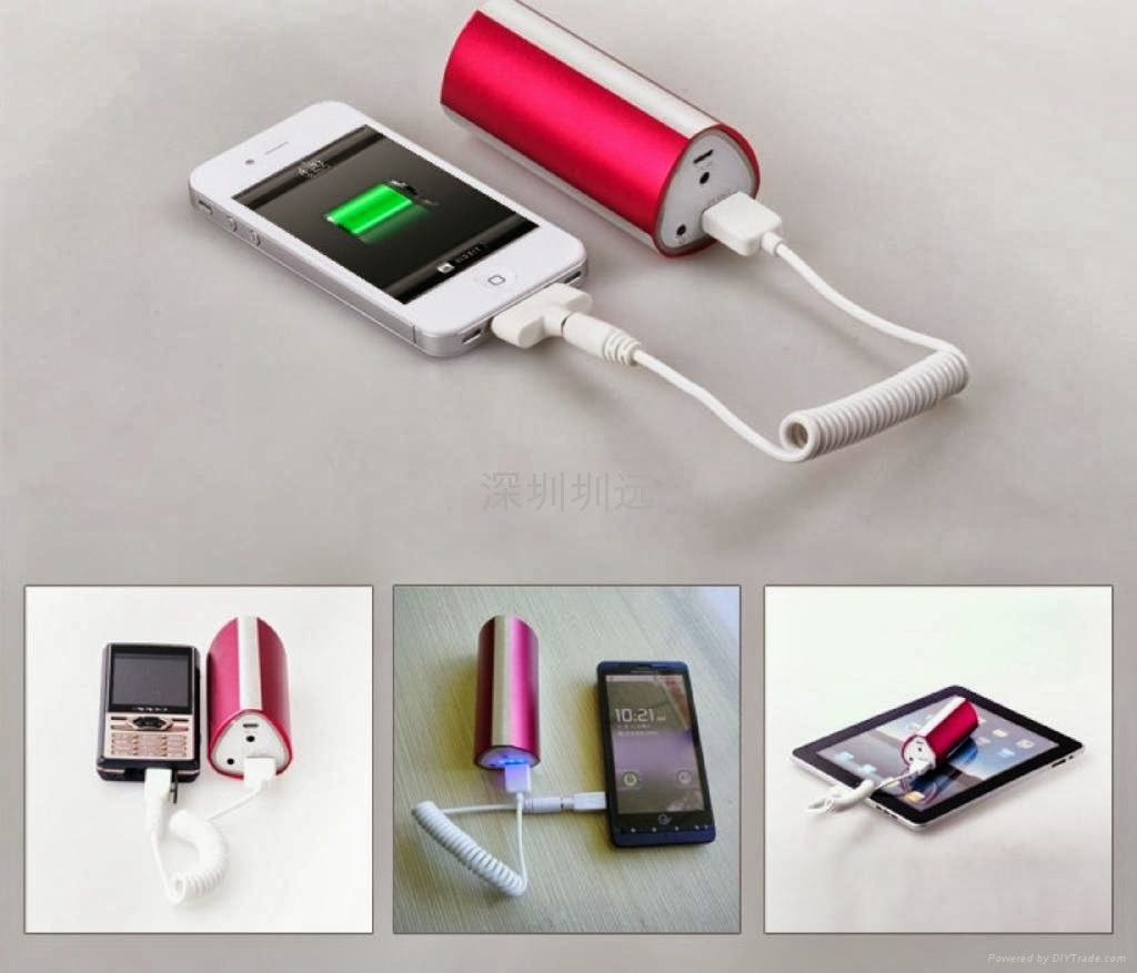 Portable power bank for iphone 6