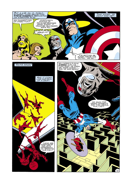 Captain America (1968) Issue #288 #204 - English 16